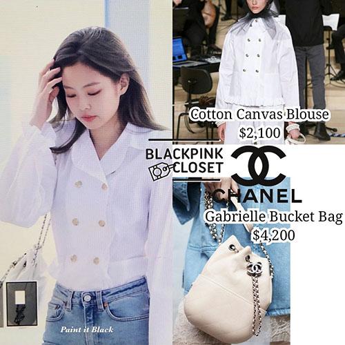 Những item trên người idol sang chanh đều đến từ thương hiệu Chanel danh giá.