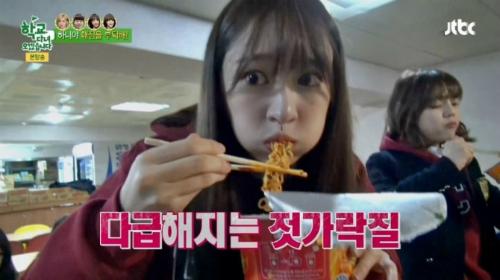 Những lần mải ăn quên trời đất của idol Hàn trên truyền hình
