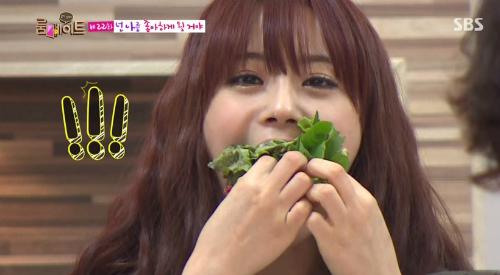 Những lần mải ăn quên trời đất của idol Hàn trên truyền hình - 4