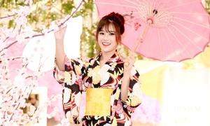 Hoàng Yến Chibi đẹp trong veo khi hóa thân thành gái Nhật
