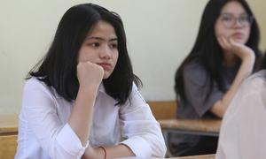 Học sinh Hà Nội căng thẳng trong ngày 'quyết định công sức 9 năm học'