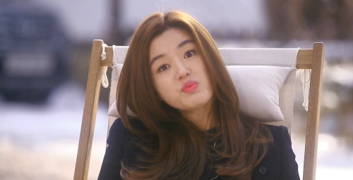 Nữ chính bá đạo Chun Song Yi.