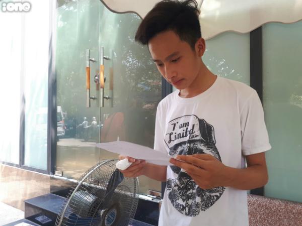 Nguyễn Trung Hiếu hoàn thành phần thi khá tốt.