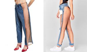 Quần jeans 'không hiểu mặc nội y cách nào' đắt khách ở Mỹ