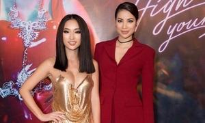 Phạm Hương chúc mừng Quỳnh Thy ra mắt MV