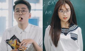 Hot boy 'Người âm phủ' thả thính gái xinh đỉnh cao trong MV debut