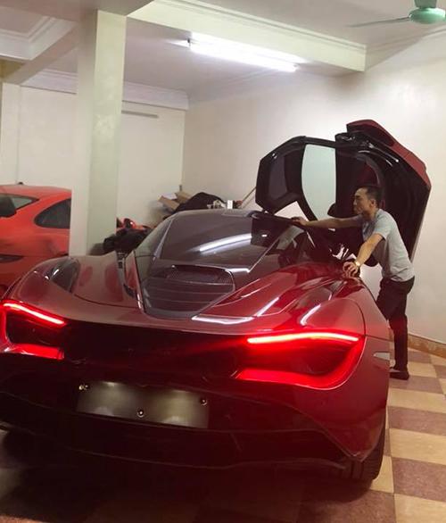 Cường Đô la lại khiến fan lóa mắt với chiếc siêu xe hoành tráng.