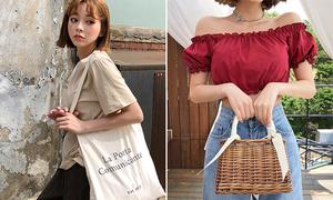 4 mẫu túi 'hot hit' đang đắt khách rần rần ở Hàn Quốc