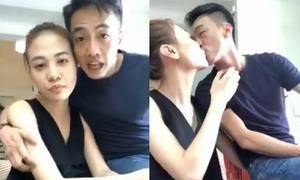 Cường Đô La khóa môi, gọi Đàm Thu Trang là vợ