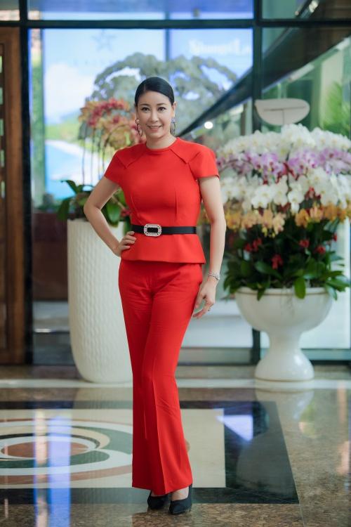 Hoa hậu Hà Kiều Anh với nhan sắc ngày càng mặn mà sau 26 năm đăng quang.