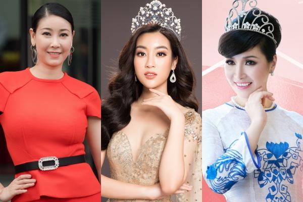 Ba hoa hậu được chọn ngồi ghế giám khảo Hoa hậu Việt Nam 2018.