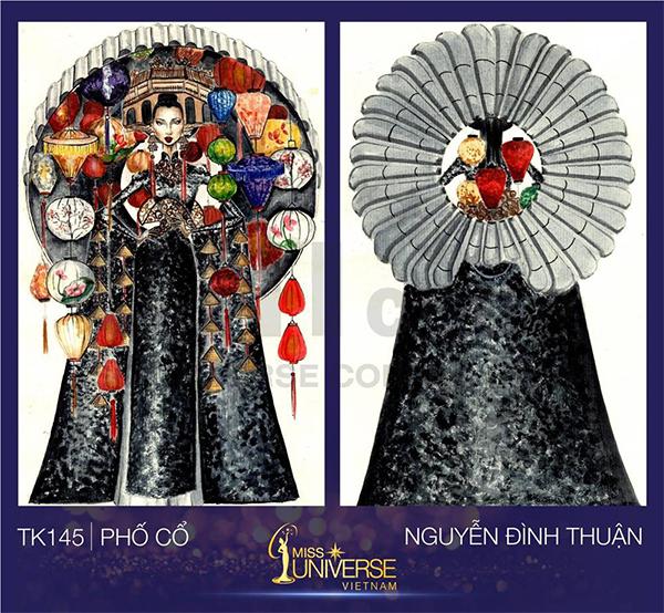 Phố cổ là thiết kế của tác giả Nguyễn Đình Thuận.