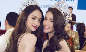 Hương Giang hội ngộ hoa hậu chuyển giới đẹp nhất Thái Lan