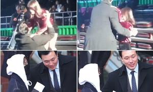 Idol Hàn được vệ sĩ bao bọc, chăm chút như hoàng tử, công chúa