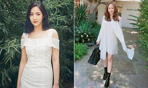 'Nữ hoàng dao kéo' Park Min Young diện đồ trẻ trung 'hack tuổi'
