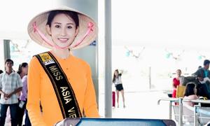 Chi Nguyễn lên đường tham gia Miss Asia World 2018