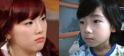 Em gái của Tae Yeon có khuôn mặt giống hệt chị và cô bétrở thành thực tập sinh của SM từ năm 17 tuổi. Điểm mạnh của Ha Yeon chính là giọng hát truyền cảm như chị gái.