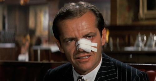 Nam diễn viên Jack Nicholson trong Chinatown
