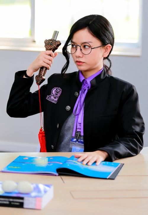Tạo hình của Lê Hạ Anh trong phim.