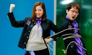 Lê Hạ Anh hóa 'chị đại' trong trường học độc nhất vô nhị