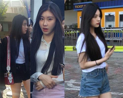 Ji Soo, Chae Ryung và Hwang Ye Jin thường xuất hiện cùng nhau.