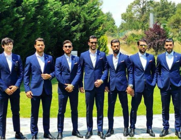 ĐT Iran cũng gây thương nhớ với phái đẹp khi tung ra bộ ảnh tuyển thủ với vóc dáng chuẩn người mẫu