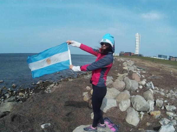 CĐV nữ đi nhờ 6000km đến Nga cổ vũ ĐT Argentina thi World Cup - page 2