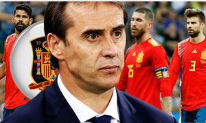 Tây Ban Nha 'trảm tướng' 1 ngày trước World Cup