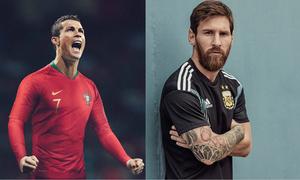 Trang phục thi đấu World Cup 2018: Đại chiến Nike và Adidas