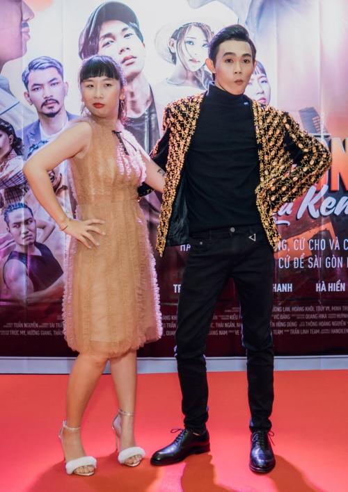 Hồng Thanh - Trang Hý tạo nên cặp bài trùng trong phim.