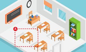 Trắc nghiệm: Đâu là chỗ ngồi ưa thích của bạn trong lớp thời còn đi học?