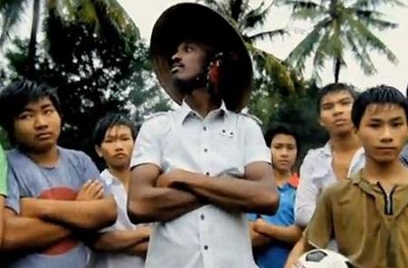 Một cảnh quay tại Việt Nam trong sản phẩm nổi tiếng mùa World Cup 2010.