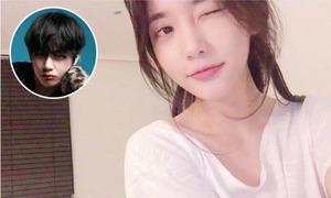 'Tiểu thư hư hỏng' xứ Hàn xin lỗi V (BTS) vì... nhìn nhầm