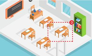 Trắc nghiệm: Đâu là chỗ ngồi ưa thích của bạn trong lớp thời còn đi học? - 3