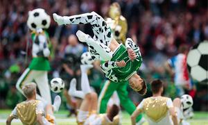 Những con số ấn tượng của lễ khai mạc World Cup 2018