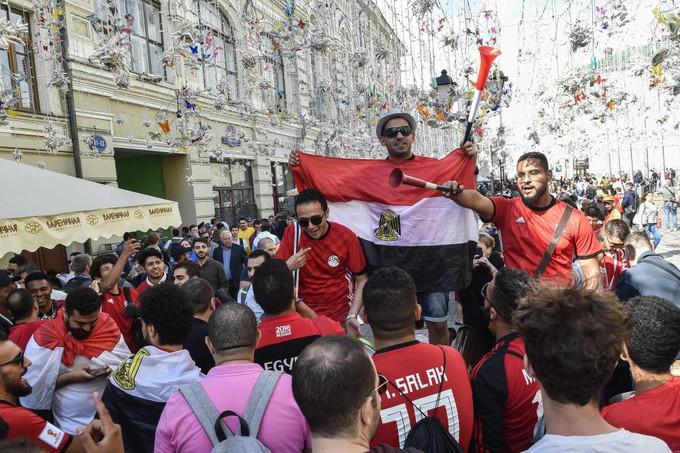 """<p> Năm nay, người Ai Cập cuối cùng cũng được hưởng niềm vui tham dự vòng chung kết World Cup sau 28 năm chờ đợi. Người hâm mộ xứ sở Kim tự tháp hoàn toàn có quyền đặt niềm hy vọng vào """"Vua Ai Cập"""" Mohamed Salah. Nhiều khả năng Salah sẽ được ra sân ngay trong trận mở màn gặp đội tuyển Uruguay.</p>"""