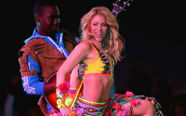 Ca sĩ Shakira.