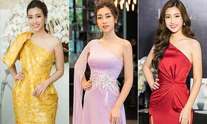 Váy 'một mất một còn' được Mỹ Linh diện suốt 2 năm không chán