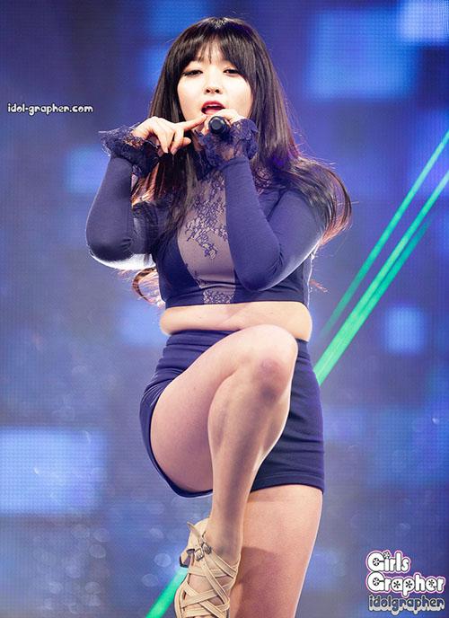 Những bức ảnh thảm họa khiến sao nữ Hàn bị ném đá cân nặng - 5