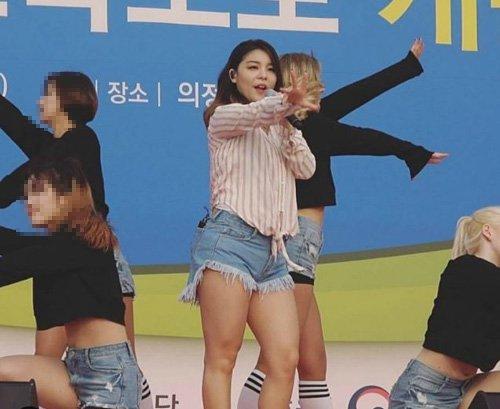 Những bức ảnh thảm họa khiến sao nữ Hàn bị ném đá cân nặng - 3
