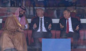 Phản ứng dễ thương của Tổng thống Putin khi tuyển Nga cho Arab Saudi 'ăn hành'