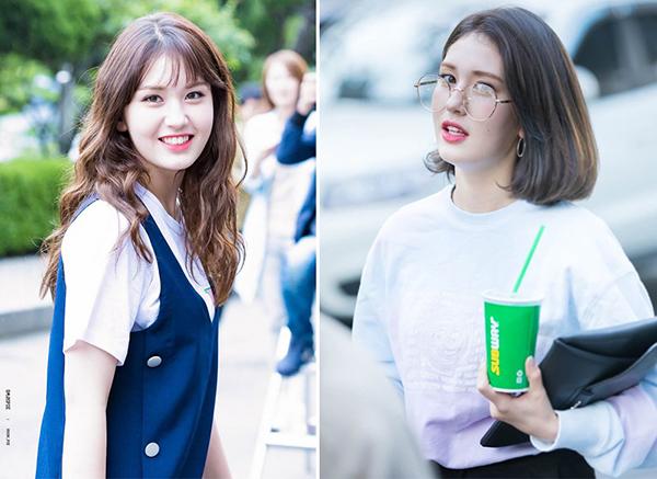 Nếu các fan đã quen với Somi trong mái tóc xoăn dài khi mới xuất hiện trên các show truyền hình, đậm nét đáng yêu thì nay cô nàng đã thay đổi hình ảnh trưởng thành hơn rất nhiều.
