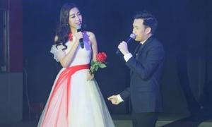 Đỗ Mỹ Linh khoe giọng hát cùng Dương Triệu Vũ tại Mỹ
