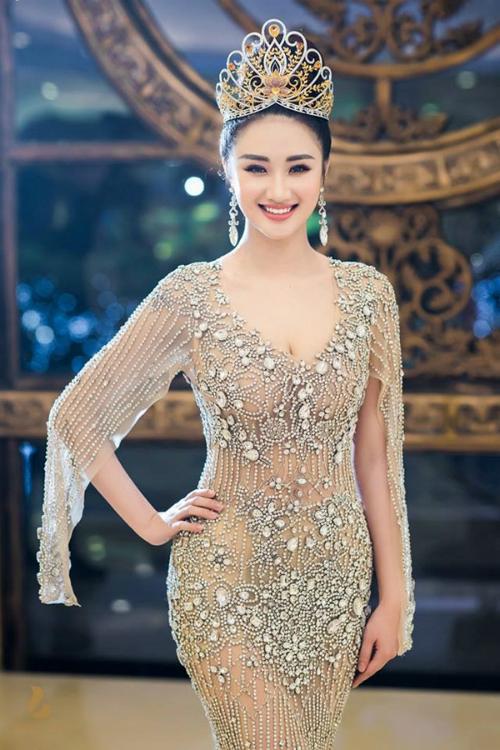 Đương kim Hoa hậu Trần Thị Thu Ngân.