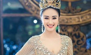Hoa hậu bản sắc Việt toàn cầu lý giải việc Thu Ngân im ắng sau đăng quang
