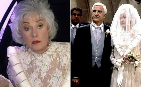 Những chiếc váy cưới thảm họa trong lịch sử phim ảnh Hollywood - 9