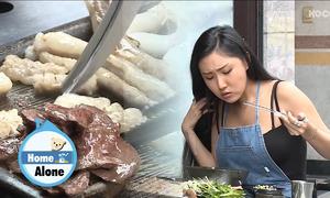 Nhờ clip ăn lòng lợn, Hwasa trở thành idol hot nhất tháng 6