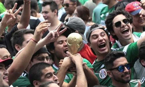 CĐV Mexico tạo ra động đất vì quá mừng khi đội nhà ghi bàn vào lưới Đức