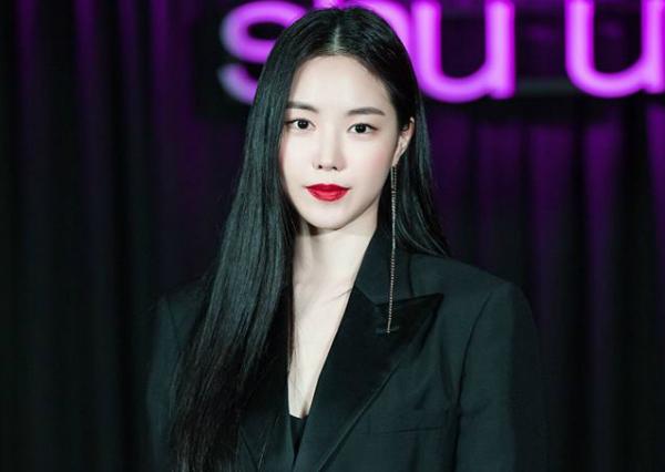 Hình ảnh mới nhất của Son Na Eun.