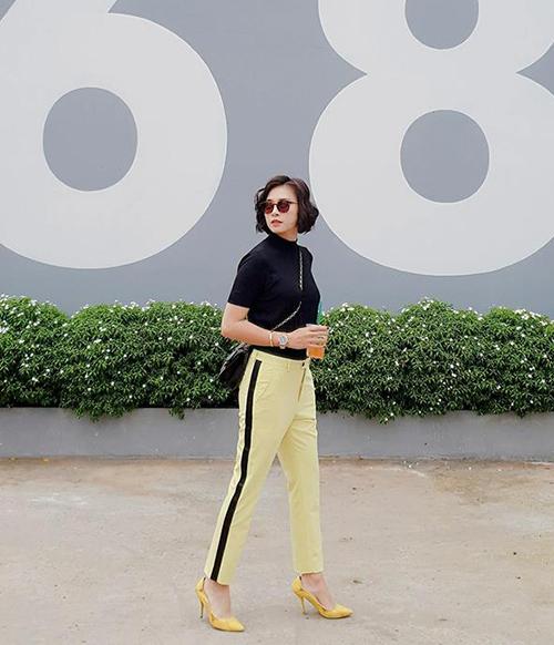 Ngô Thanh Vân bận rộn chạy show công việc nhưng ra đường vẫn luôn ăn diện rất tươm tất.
